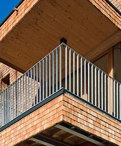 nirosta und terrassen gel nder idl metallbau. Black Bedroom Furniture Sets. Home Design Ideas